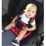 JAPP Car Cushion Seat with Safety Belt-Chair is very comfortable and easily movable-By star_edits