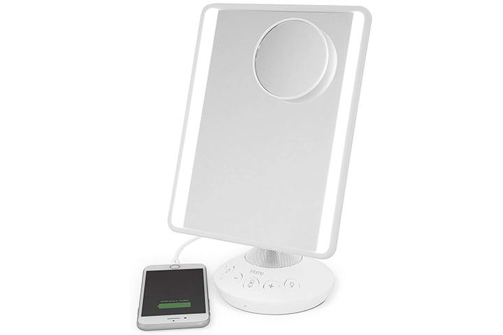 iHome Adjustable Vanity Mirror