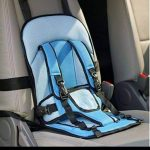 JAPP Car Cushion Seat with Safety Belt-Protects baby from fall down-By ncc