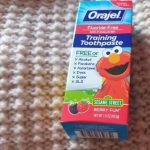 Orajel Toddler Training Toothpaste-Nice taste and helps to get a clear mouth-By v_swastik_kumar