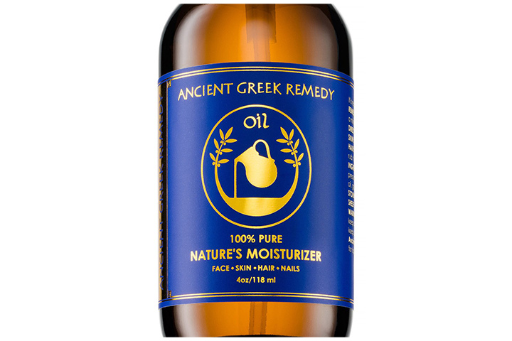 Ancient Greek Remedy Organic Blend Of Olive, Lavender Oils With Vitamin E
