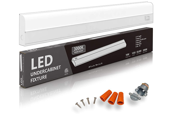 Hardwired LED Under-Cabinet Task Lighting