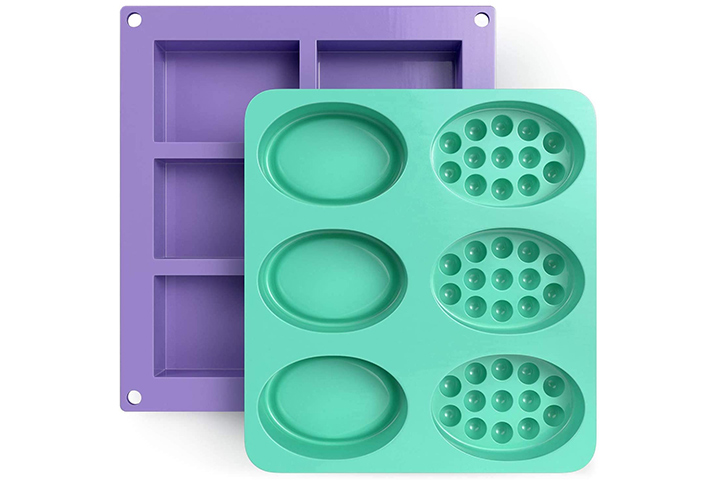 Glogex Silicone Soap Molds