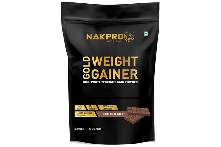 Nakpro Nutrition Gold Weight Gainer