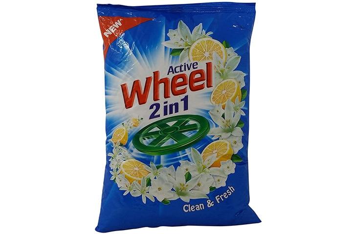 Wheel Active 2 in 1 Detergent Powder