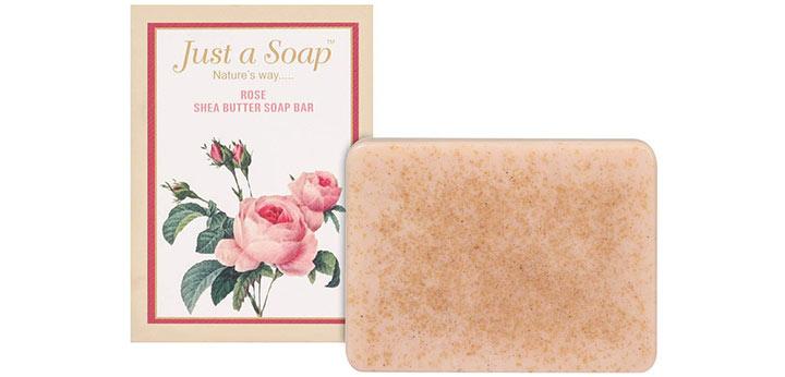 Just A Soap Rose Shea Butter Soap Bar