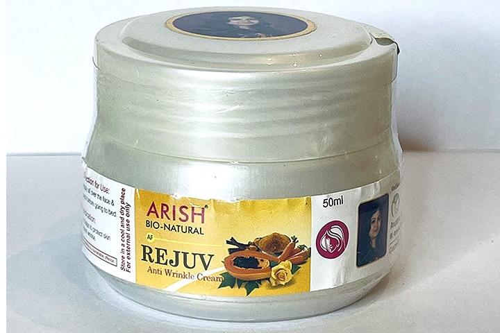 Arish Bio Naturals Rejuv Anti Wrinkle Cream