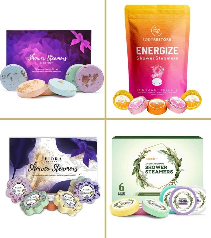 Shower Bombs To Relax And Rejuvenate Your Senses