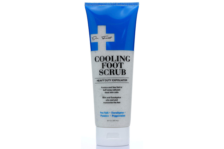 Dr. Foot Cooling Foot Scrub For Dead Skin