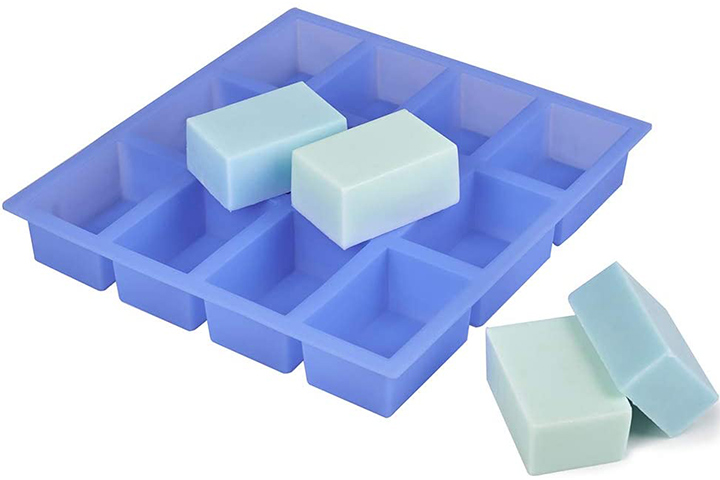 Jet Lag Rectangle Silicone Soap Mold