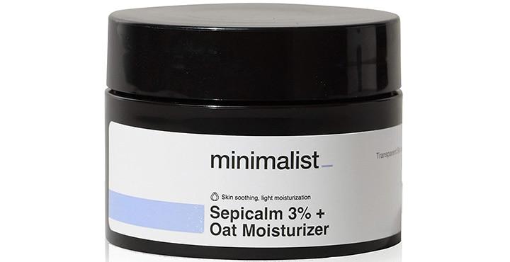 Minimalist Sepicalm 3% Oats Face Moisturizer