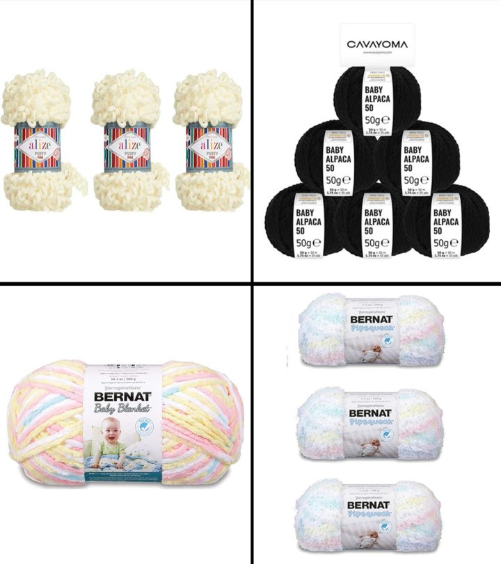 14 Best Yarns For Baby Blankets in 2021