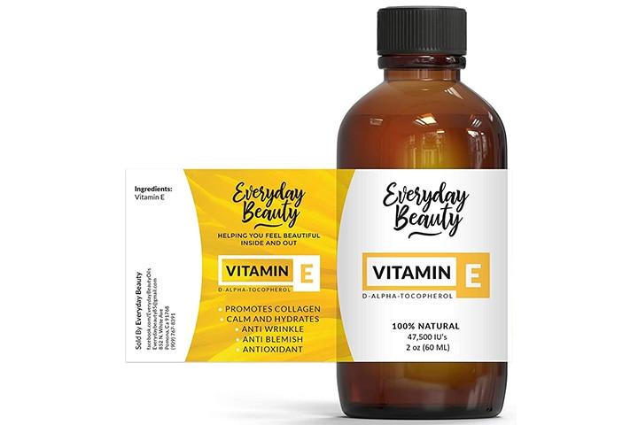 Everyday Beauty Vitamin E Oil