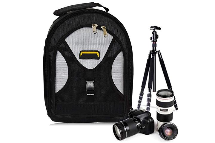 Priyam New Series Waterproof DSLR Backpack Camera Bag