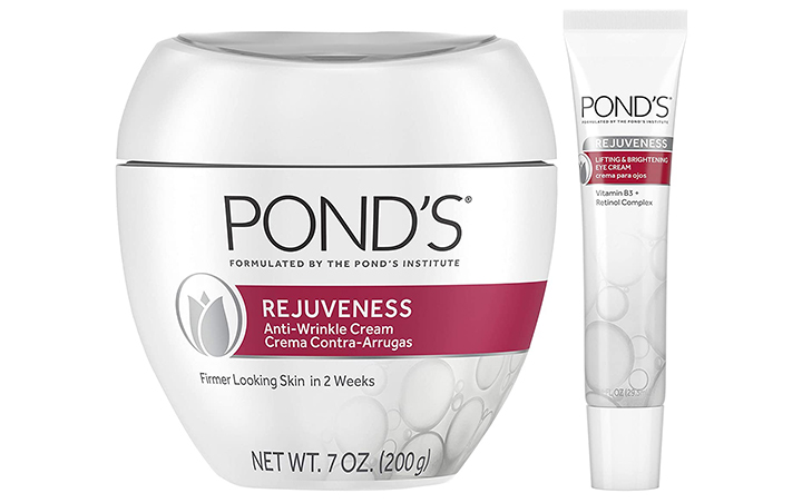 Pond's Anti-Wrinkle Cream And Eye Cream