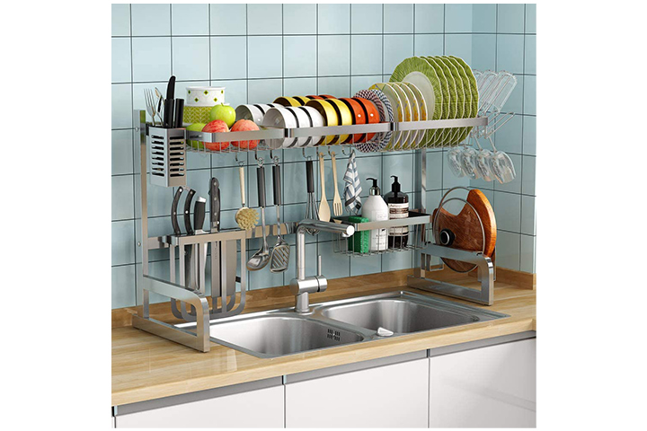 1Easylife Over the Sink Dish Drying Rack