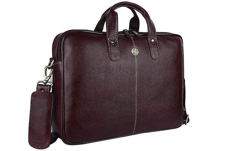 Hammonds FlyCatcher Men's Original Bombay Leather Office Laptop Bag LB106BR