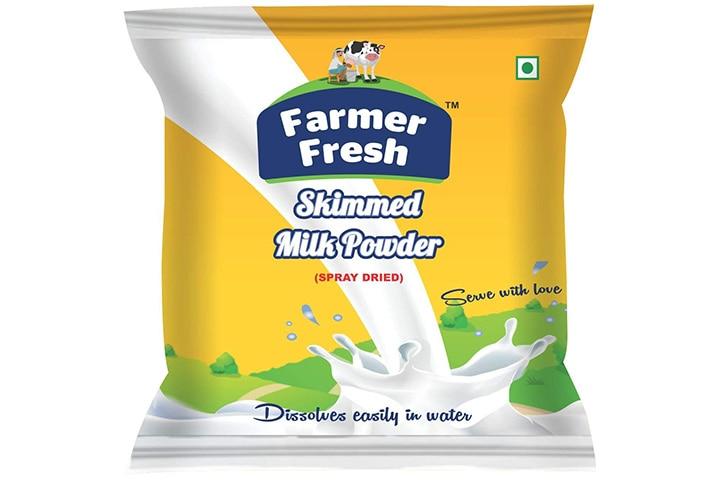 Farmer Fresh Pure & Premium Skimmed Milk Powder