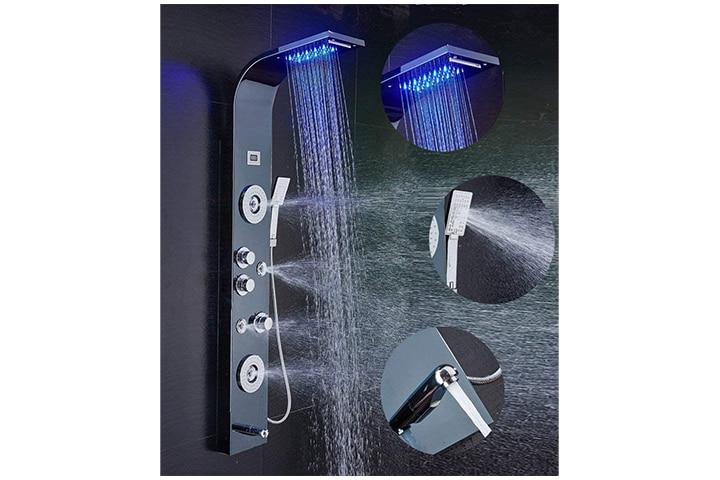 Ello&Allo Stainless Steel Shower Panel Tower