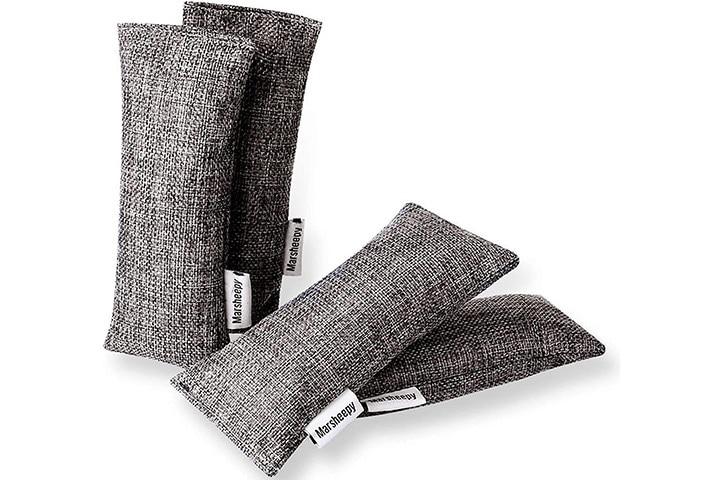 Marsheepy 12 Pack Charcoal Shoe Deodorizer Bags