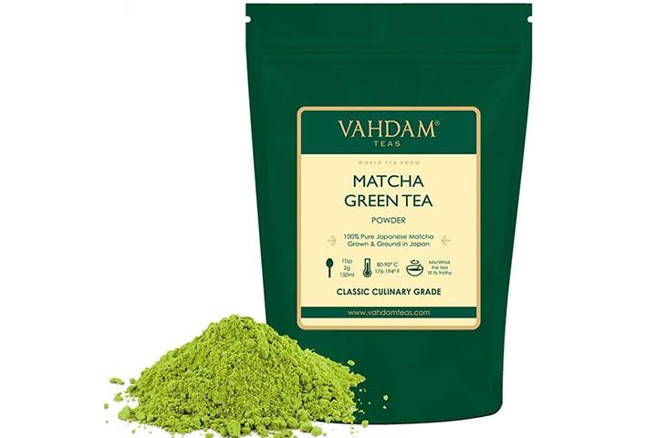Vahdam Green Tea Powder