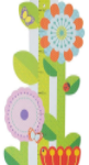 Babies Bloom Floral Growth Chart for Growing Babies-Pretty wall growth chart-By prashanthi_matli