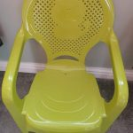 TIED RIBBONS Soft Cushion Plastic Chair for Kids-Gives best comfort-By ncc