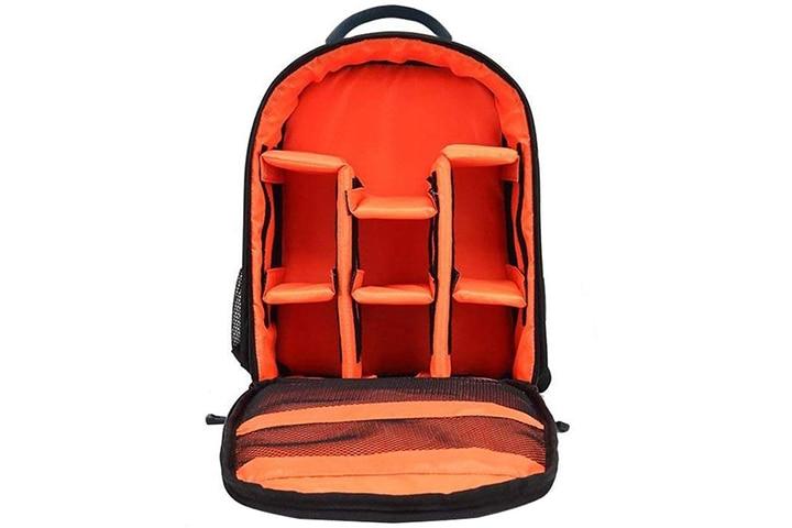 Smiledrive Waterproof DSLR Backpack Camera Bag
