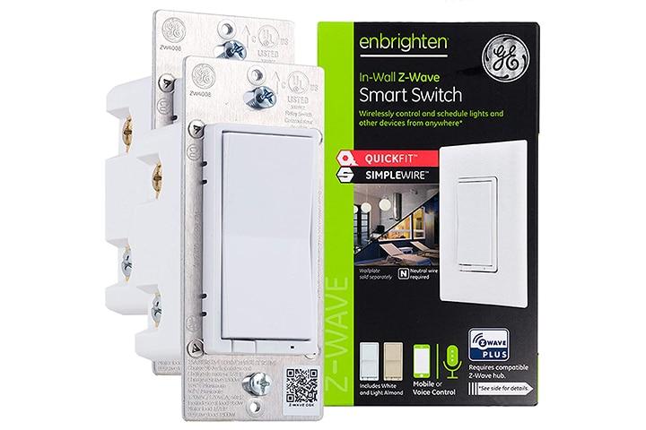 GE Enbrighten Z-Wave Plus Smart Light Switch