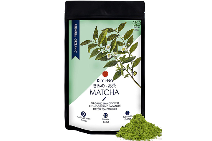 Kimono Japanese Organic Matcha Green Tea Powder