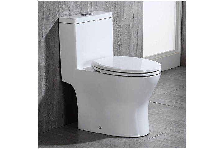 Woodbridge Short Compact Dual Flush Toilet
