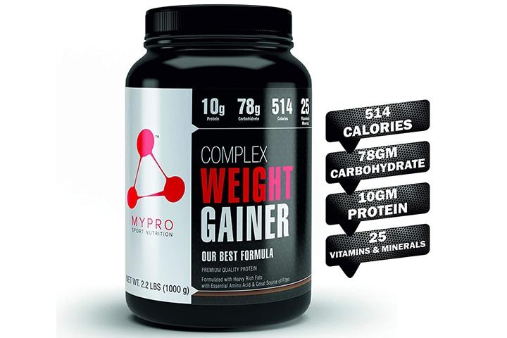 Mypro Sport Nutrition Complex Weight Gainer