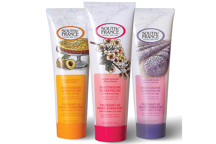 Variety Pack Hand & Body Sugar Polish by South of France Natural Body Care