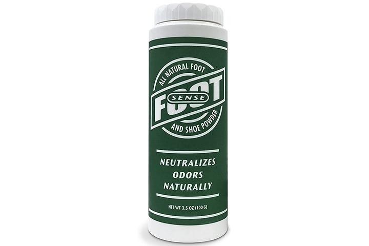 Foot Sense Natural Shoe Deodorizer Powder