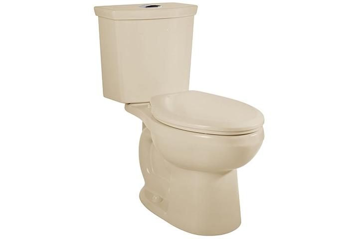 American Standard Dual Flush Elongated Toilet