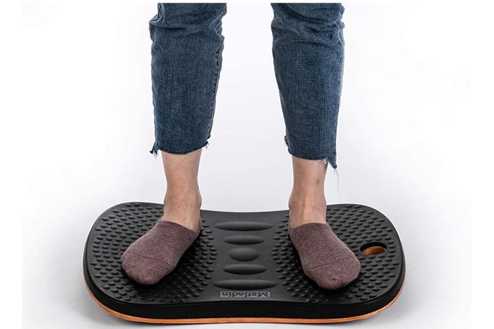 Matladin Active Wooden Wobble Balance Board
