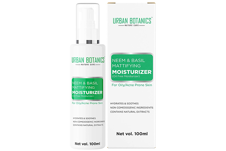 UrbanBotanics Oil-Free Moisturizer