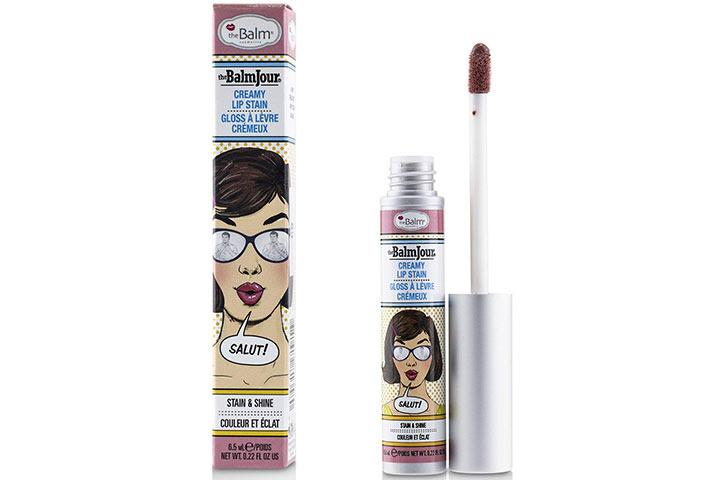 theBalm Creamy Lip Stain - Salut