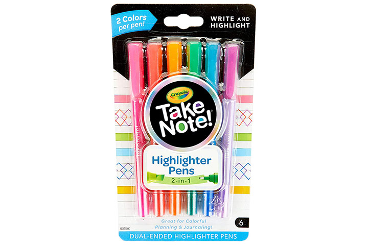 Cryola Take Note Highlighters
