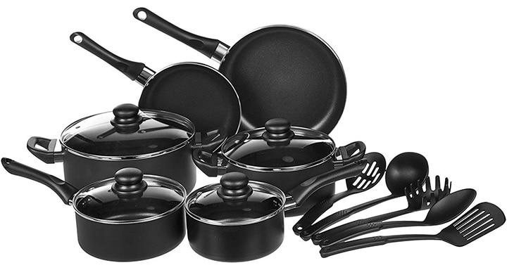 AmazonBasics Cookware Set