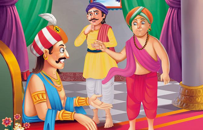 Apmaan ka badla Tenali Raman Story in Hindi