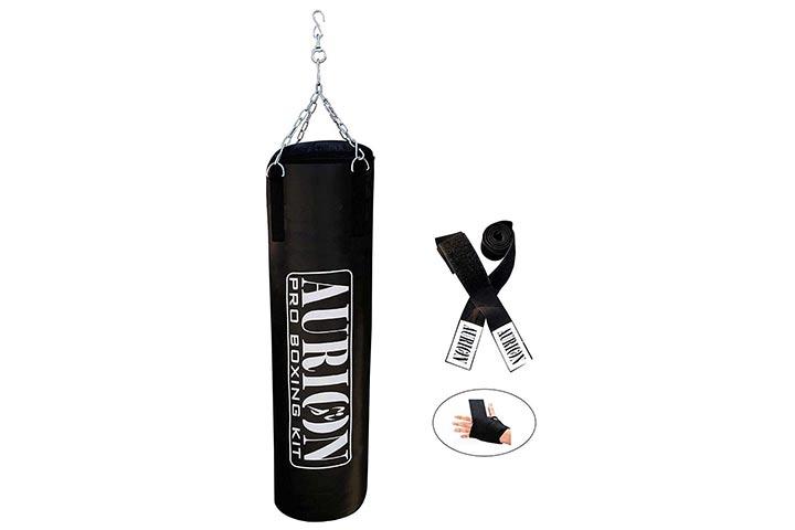 Aurion Pro Boxing Kit Heavy Punching Bag