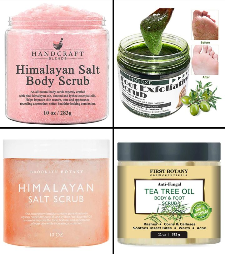 13 Best Exfoliating Foot Scrubs To Look Out For In 2021