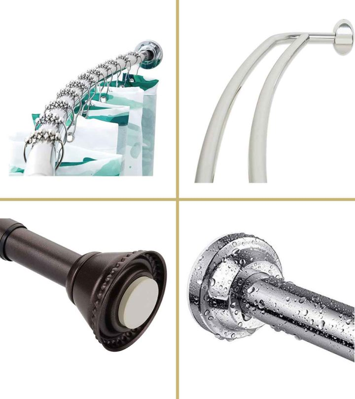 11 Best Shower Curtain Rods Of 2021