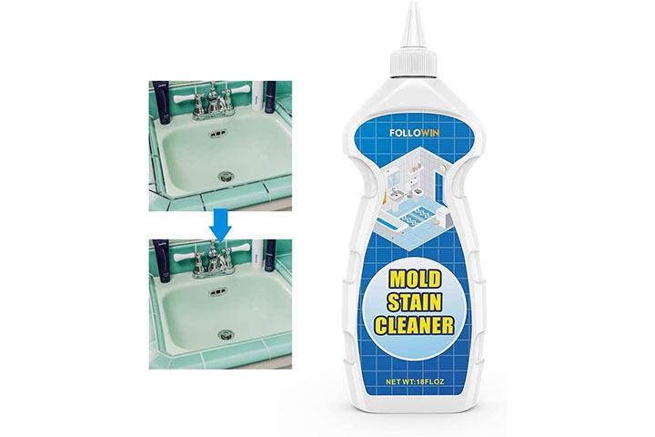 Followin Mold And Mildew Bathroom Cleaner Gel