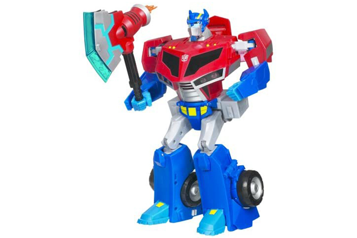 Hasbro Transformers Animated Roll Out Command Optimus Prime