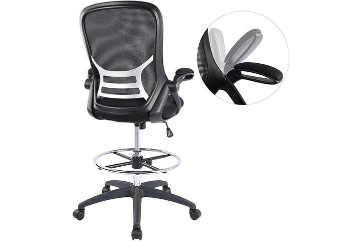 Hylone High-Back Drafting Chair