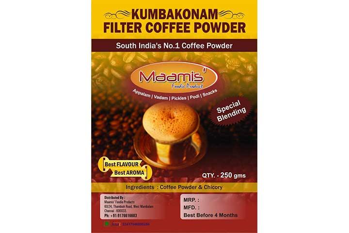 Jayendra Kumbakonam Filter Coffee Powder
