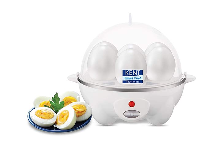 Kent White Egg Boiler