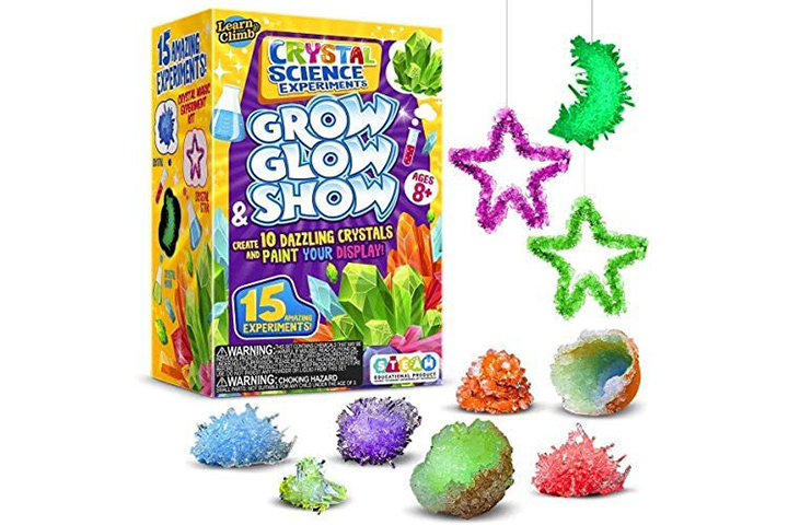 Learn & Climb Crystal Growing kit for Kids
